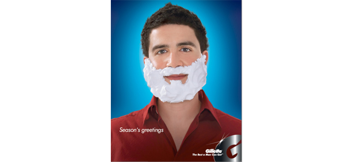 Gillette-Christmas-Print-Ad
